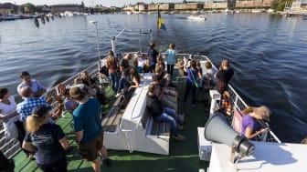 Fler utländska övernattningar i Sverige till och med september