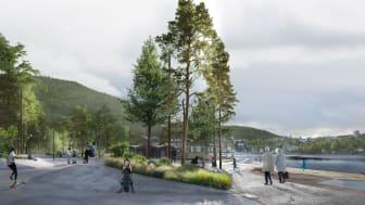 Systemhandling inlämnad för strandpark och ny Lungegårdspark i Bergen