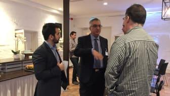 Tawfiq Shams, PLM Group och Nader Asnafi, Örebro universitet/PLM Group.