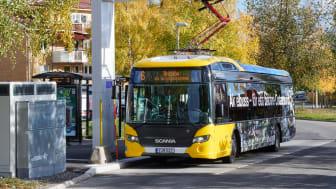 Östersund udvider driften af elektriske bybusser