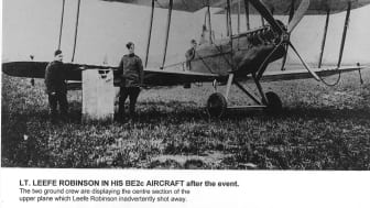 BE2c aircraft with WLR