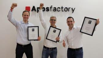 """Appsfactory von FOCUS BUSINESS als """"Top Arbeitgeber Mittelstand 2020"""" ausgezeichnet"""