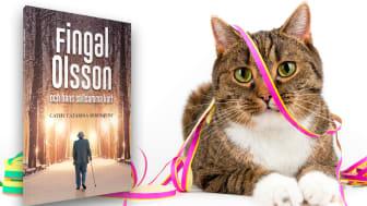 Fingal Olsson och hans sällsamma katt, en feelgood-roman av Cathy Catarina Söderqvist