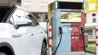 E.ON Volkswagen lynoplader