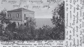 Postkarte, von Margareta Gosebruch von Liechtenstern geschrieben, unterschrieben auch von Christian Morgenstern (Rechte: Archiv von Die Christengemeinschaft)