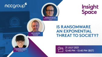 Is ransomware an exponential threat to society?