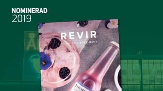 Åbros kundmagasin Revir är nominerat till Svenska Designpriset 2019.