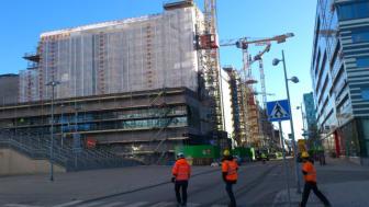 Storsjöhus bygger Arenastaden - med I-balk i stommen