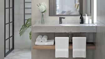 Beröringsfria tvättställsblandare MORA MMIX TRONIC BLACK
