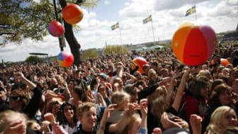 3500 barn tar ställning mot mobbning på Skansen idag
