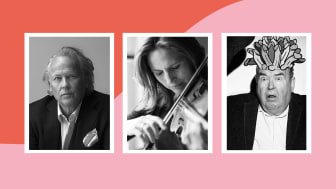 Författaren Klas Östergren, violinisten Cecilia Zilliacus och skådespelaren Michael Segerström medverkar i KulturWKND.