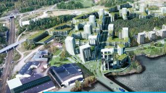 Ett tidigare industriområde i Trollhättan ska omvandlas till den nya stadsdelen Vårvik, med upp till 1 800 lägenheter. Först ska dock området marksaneras och strandkanten mot älven säkras mot skredrisk.