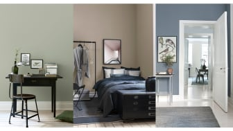 Swedish wallpaper brand Boråstapeter announces the release of a new single-colour wallpaper collection - Pigment