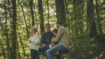 I naturreservatet Danska fall kan du njuta av en picknick med familj eller vänner. Foto: Per Nilsson.