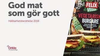Orkla Foods Sverige Hållbarhetsberättelse 2018