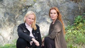 Anna Carsall och Pia Johansson. Syftet med vår bok är att skapa igenkänning och tröst för andra drabbade och ta bort skam.