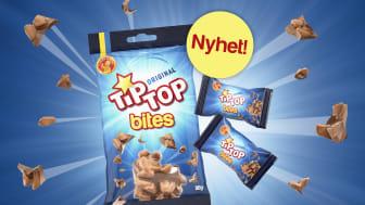 TipTop Bites i 80g påse och förpackad lösvikt