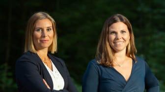 Ylvali Gerling och Linn Hägg, systrarna tillika medgrundarna bakom bolaget.