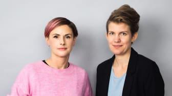 Carolina Hemlin och Ida Måwe