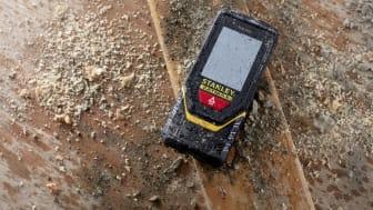 STANLEY FATMAX TLM-serien er klassifisert IP54 og sikrer beskyttelse mot støv og vannsprut.