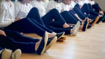 Tanzen spielt im bilingualen Kindergarten der BCS eine wichtige Rolle.