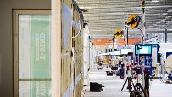 Lindbäcks produktionsanläggning på Haraholmen i Piteå. Foto: Maria Fäldt