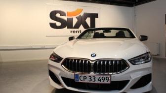 BMW M850i xDrive Cabriolet hos Sixt mini-lease, Hellerup Foto: Sixt Danmark