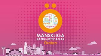 Mänskliga rättighetsdagarna intar Örebro den 19-24 oktober