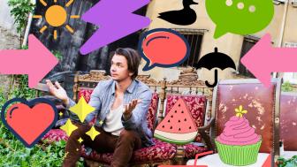 Vad gör Emil Jensen i Ideella Trädgården?