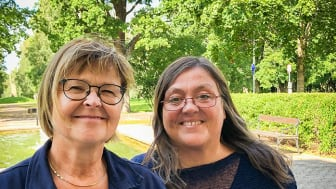 Kerstin Bäckman och Kia Kimhag