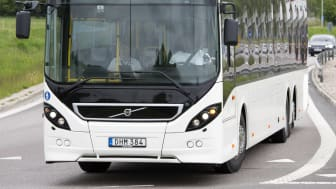 Volvo Dynamic Steering reduces the risk of work-related injuries for bus drivers