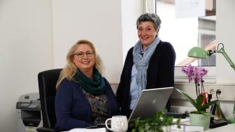 Marion Springs und Manuela Wolf laden am Dienstag, 31. März, von 15 bis 16 Uhr zu einem Info-Café in die EUTB nach Treysa ein.