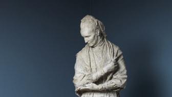 Gustav Vigeland: Camilla Collett, 1906. Plaster. Vigeland Museum, Oslo.