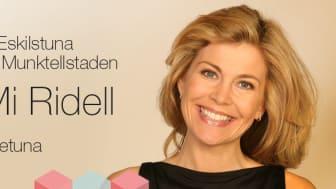 Petter Nylander och Mi Ridell klara för Näringslivsdagen Eskilstuna