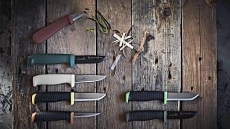 Hultafors lanserar sju nya hantverkarknivar