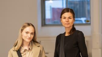 Linnéa Magnusdotter, Designer & Creative director på XV Atelier och Emma Ivarsson, Product Manager på Hejco.