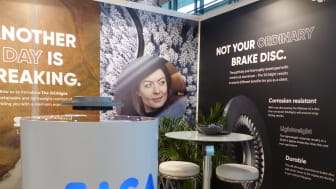 During EuroBrake AC Floby relaunched its SiCA Light brake disc.