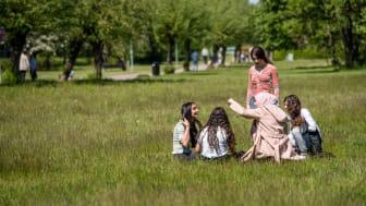 Lördagens skräpplockardag är en del av en större satsning som handlar om att göra Fredriksdal ännu trevligare och tryggare – tillsammans.