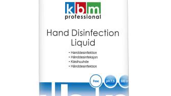 Handdsinfektion, flytande, 500 ml, KBM Professional