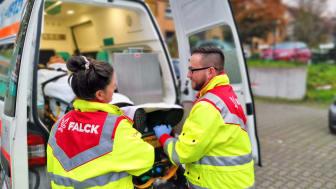 Falck vinder hidtil største kontrakt i Tyskland