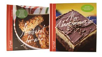 Mer långpannans lov och Hembakat för alla -- två nya böcker i Lilla Kyrkkaffe-serien!