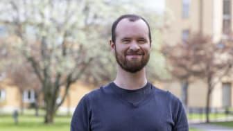 Christian Norrie, årets Global Swede vid Högskolan i Skövde.