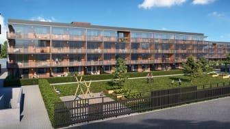 Helsingborgshem säljer fler bostadsrätter på Närlunda