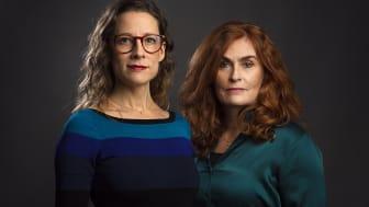 Lisen Schultz och Erica Treijs. Foto: Martin Stenmark