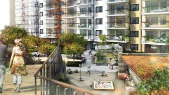 Säljstart för Riksbyggens seniorbostäder i Mölndals Innerstad