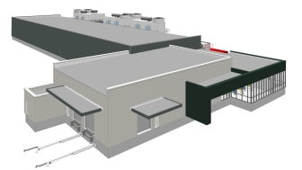 Green Mountain Data Centre DC3-Oslo - sketch 2