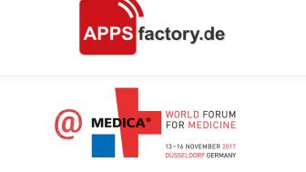 Medica 2017: APPSfactory präsentiert Mobile Health Referenzen und Augmented Reality Showcase