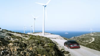Eldrivna Audi e-tron GT tillverkas CO2-neutralt i Böllinger Höfe