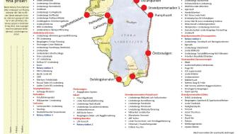 Digert program när Lindesberg håller sig i rörelse 6 maj