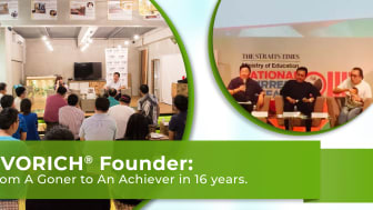 EVORICH Founder: From A Goner to An Achiever in 16 Years